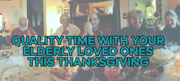 thanksgiving with elderly